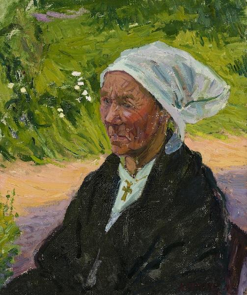 Ambrose McCarthy Patterson A Woman of Breton oil painting