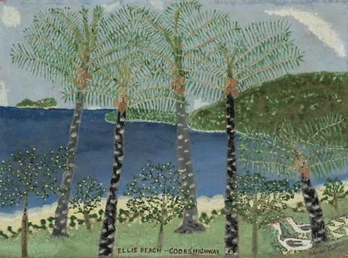 Charles Callins - Ellis Beach, Cooks Highway N.Q., 1964