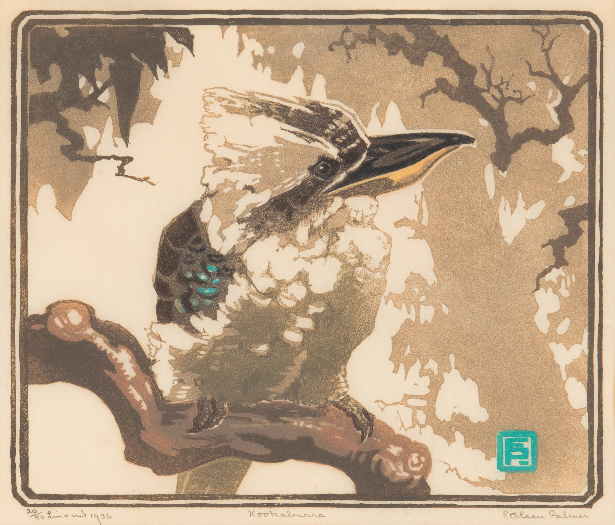 Ethleen Palmer - Kookaburra 1936