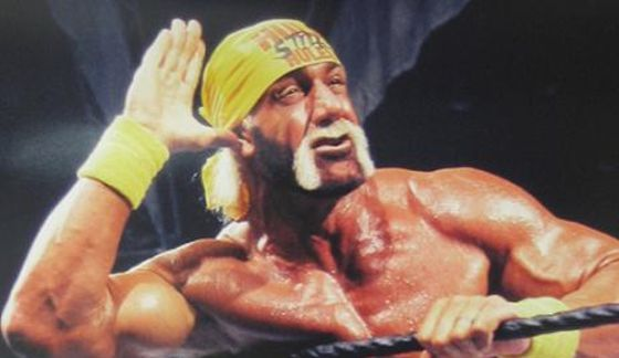 Hulk Hogan. Obviously, my favorite childhood WWF wrestler.