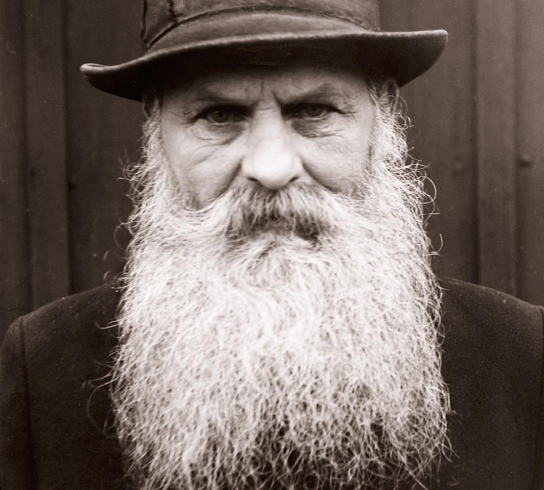 This man take beard care very seriously.