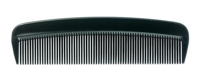 your average cheap plastic comb