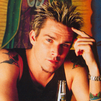 Mark McGrath, what the hell is on your chin, dude?
