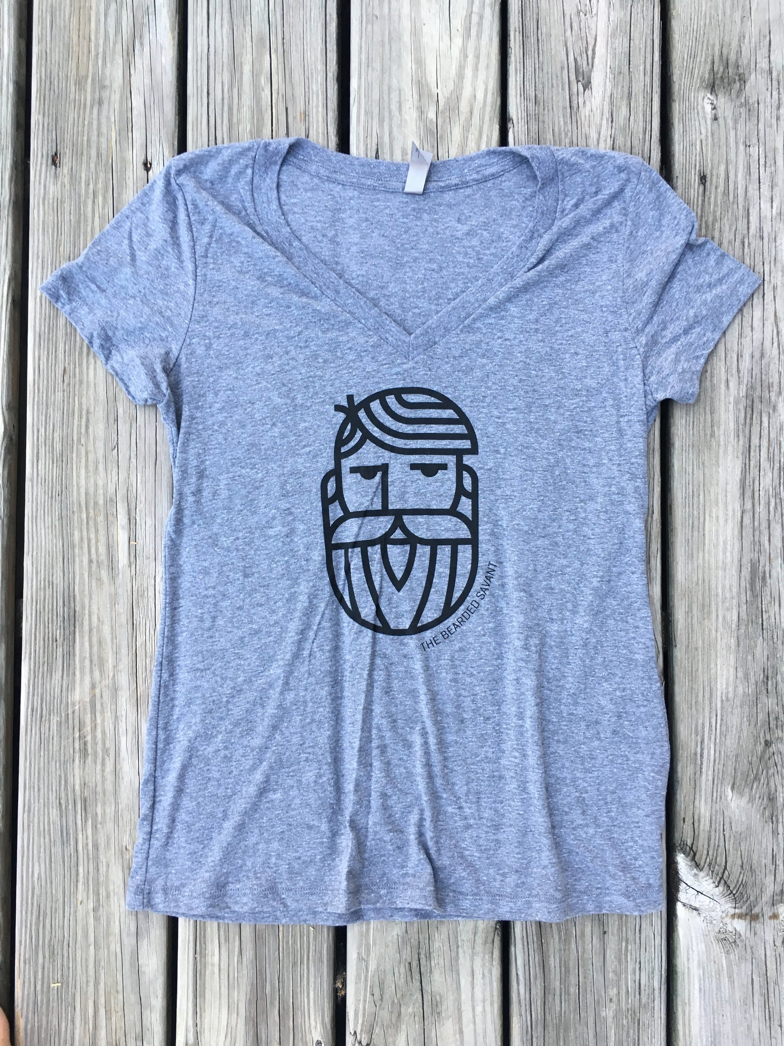 Women's Bearded Savant V-neck