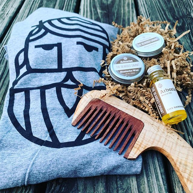 We've got your bearding needs covered. #livehandsome y'all.