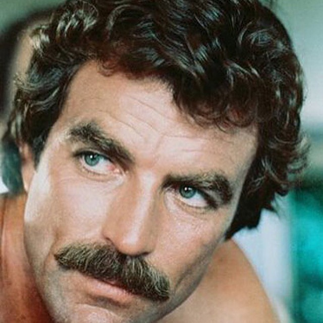#beinspired and it's ok if you're a little #enamored. Covering all your grooming needs. #beard #moustache #cleanshaven. We have something for everyone. #tomselleck