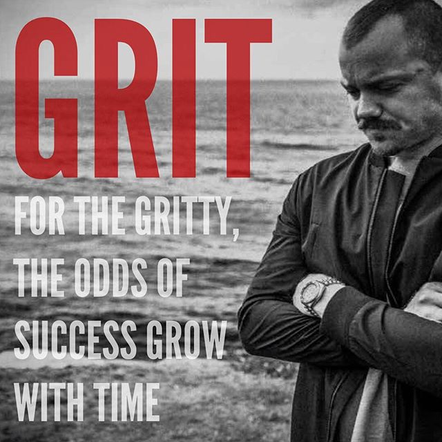How strong are you prepared to get in order to win all that you see for yourself? Grit = Passion x Perseverance. Find a way to put your soul into your work, and keep putting your soul into your work. (Whatever 'work' means to you). Got staying power? I like your odds... #skininthegame