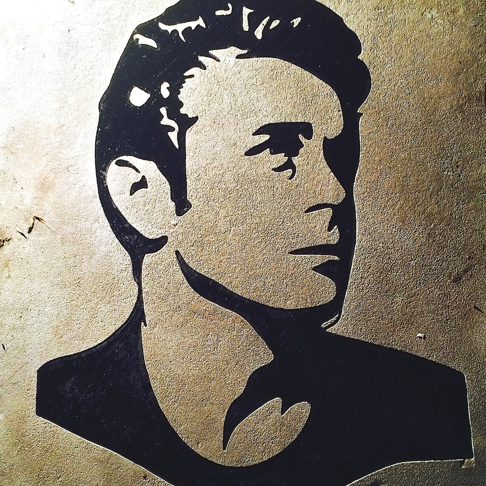 James Dean Image Engraving
