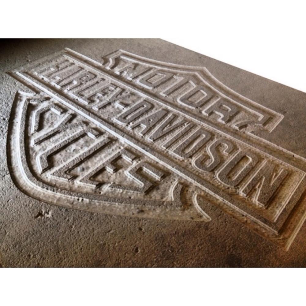 Harley Davidson Engraving