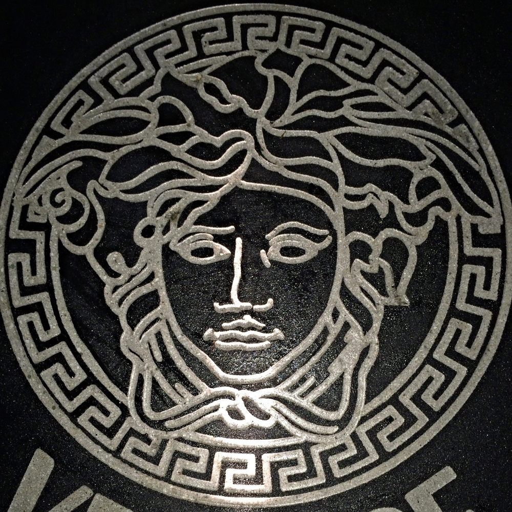 Versace Concrete Engraving Los Angeles