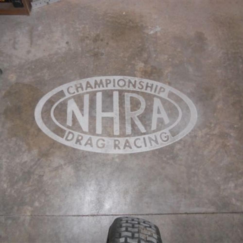 NHRA Logo Engraving