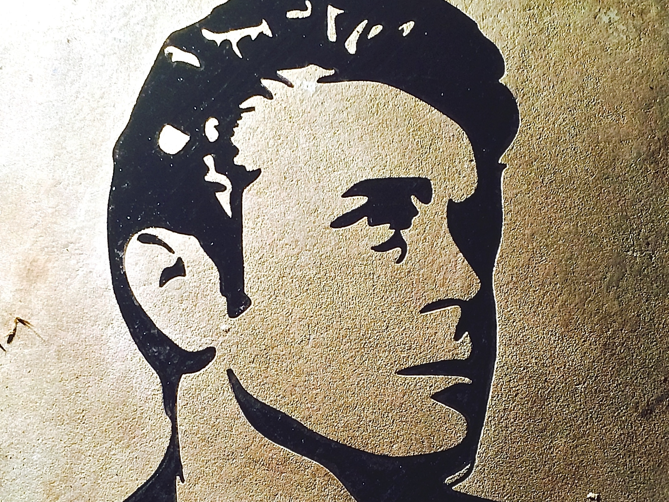 James Dean Image Engraving