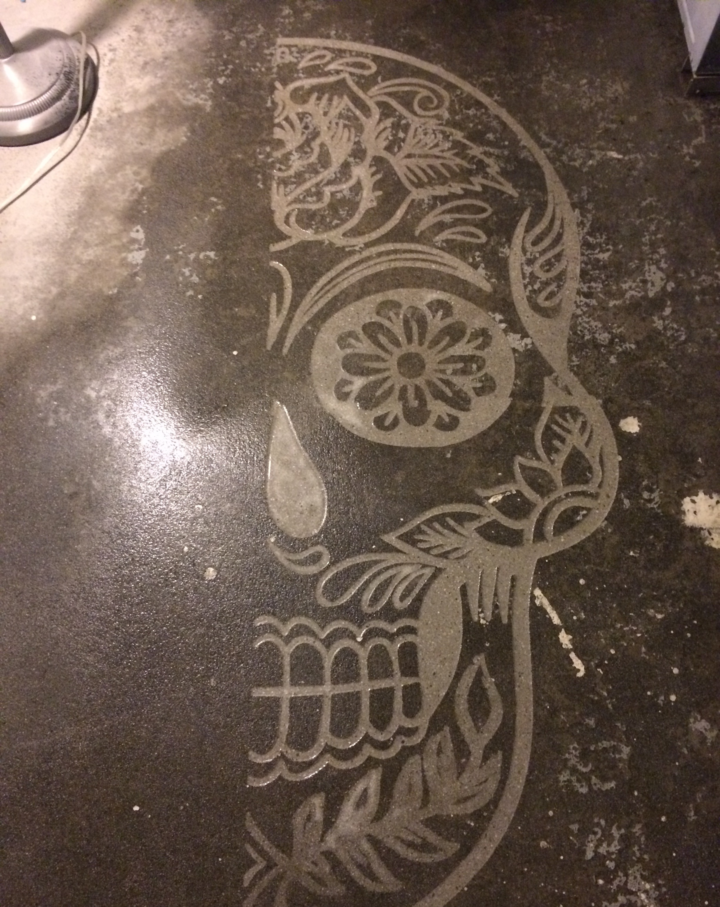Mexican Day of the Dead engraving
