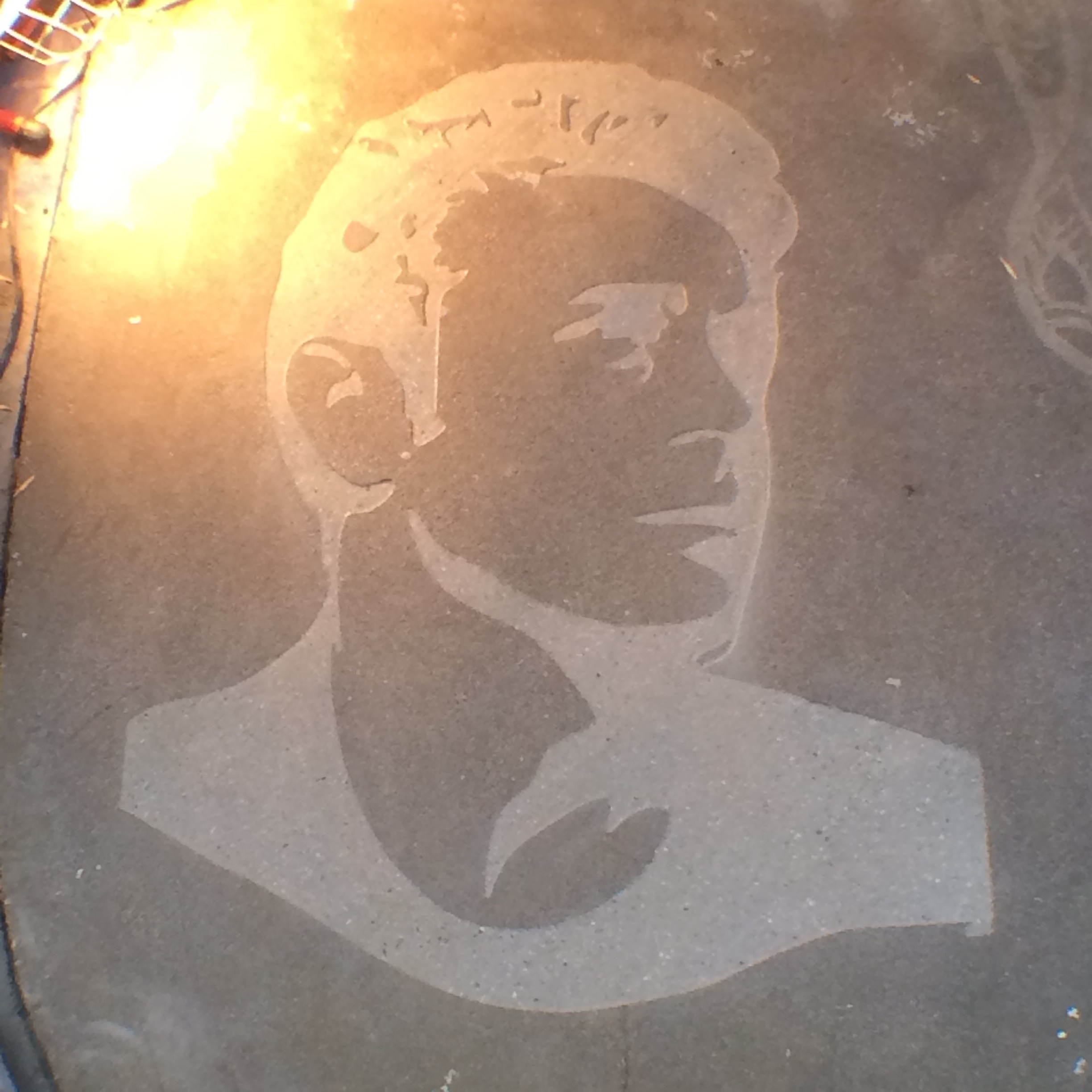 James Dean Engraving