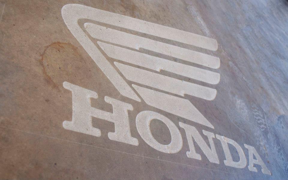 Honda Logo Engraving