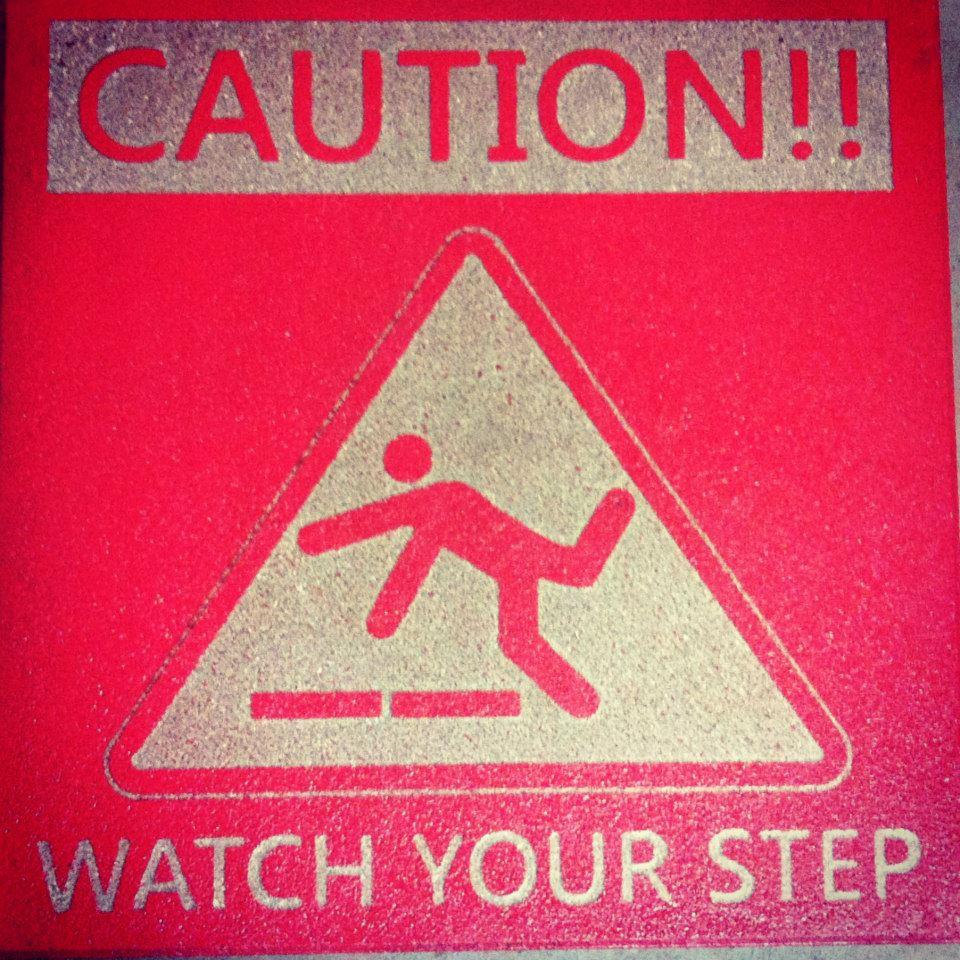 Caution-warning-concrete-engraving-paver