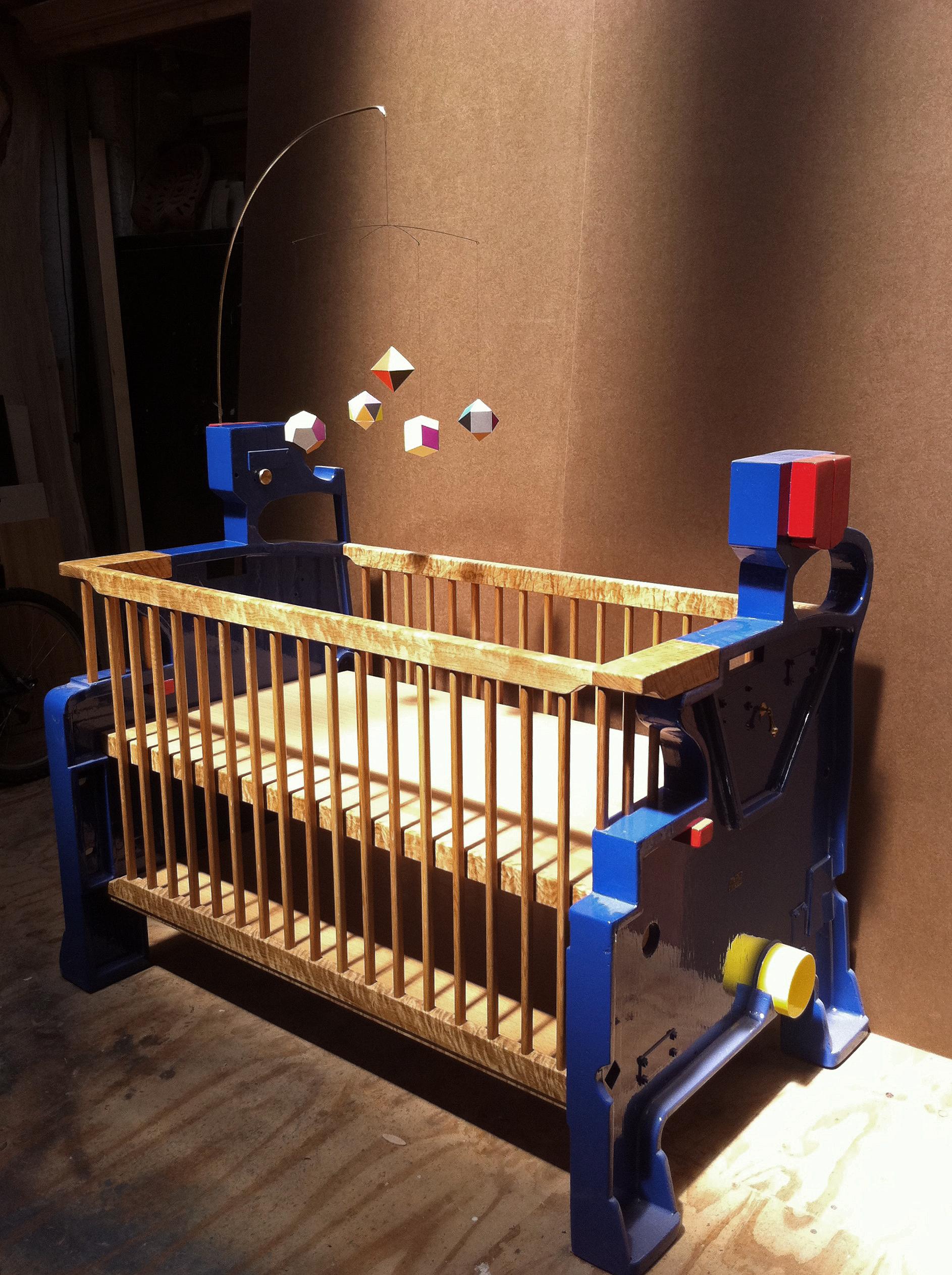 Machine Age crib