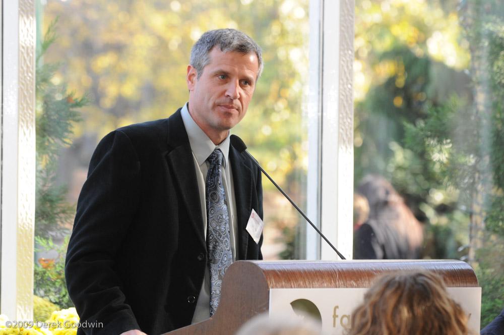 Gene Baur talk
