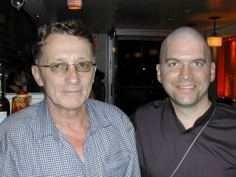 Jerry and I, 2003 in NYC