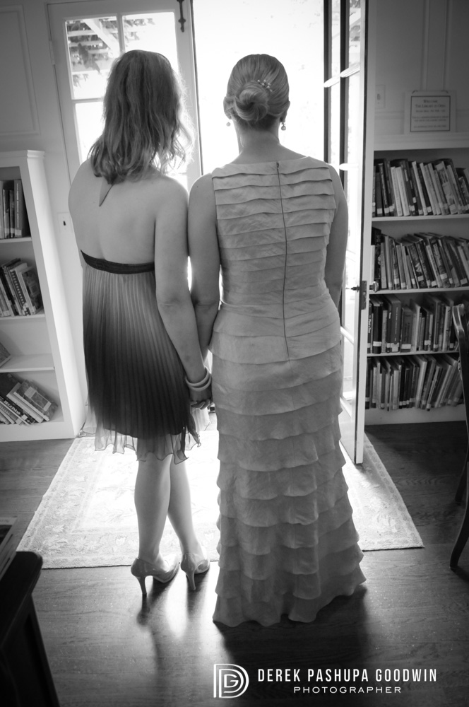 Morgan and her maid of honor