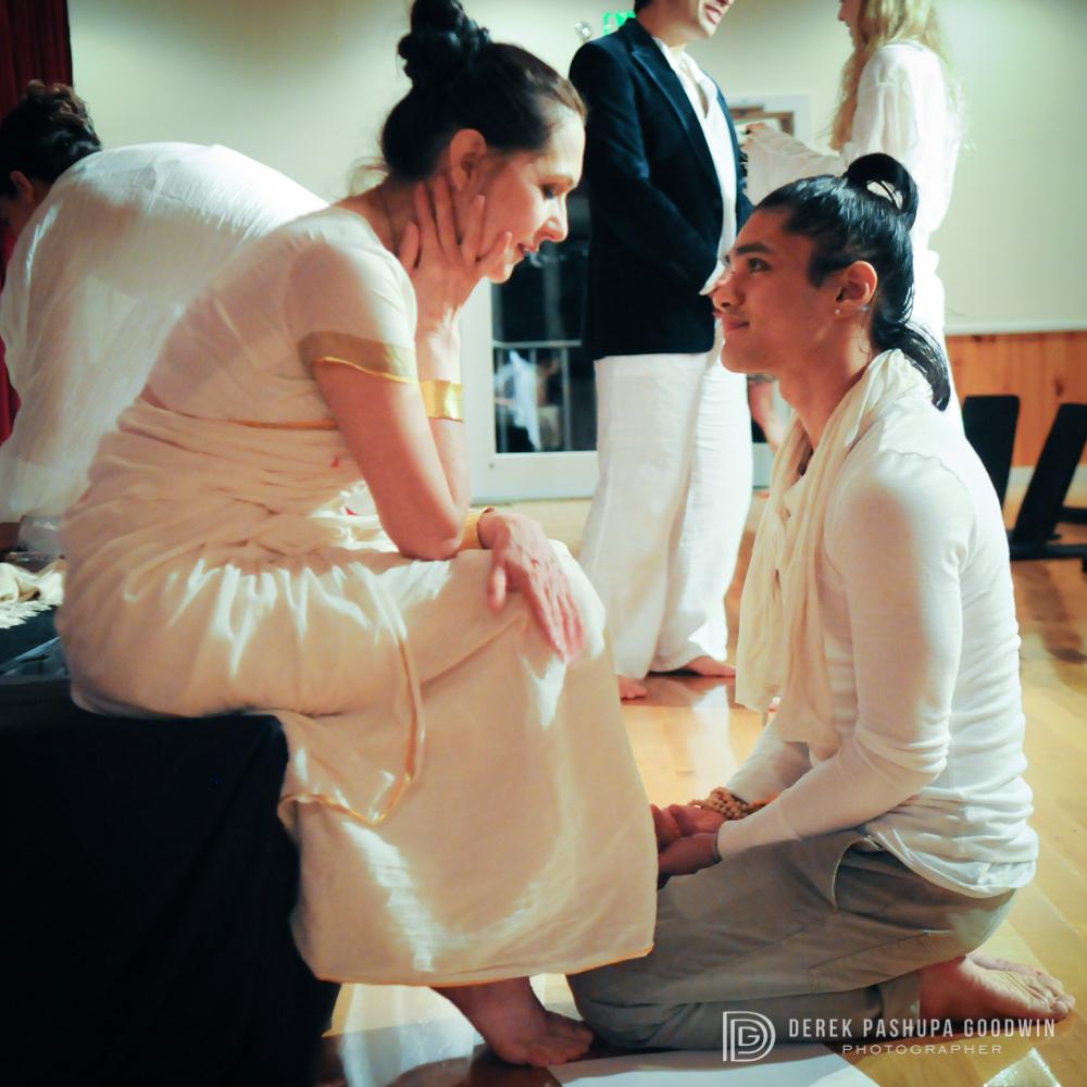 Sharon Gannon and Jeffrey Villanueva