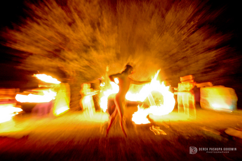 7/13/2007 Fire dance presented by  COSM