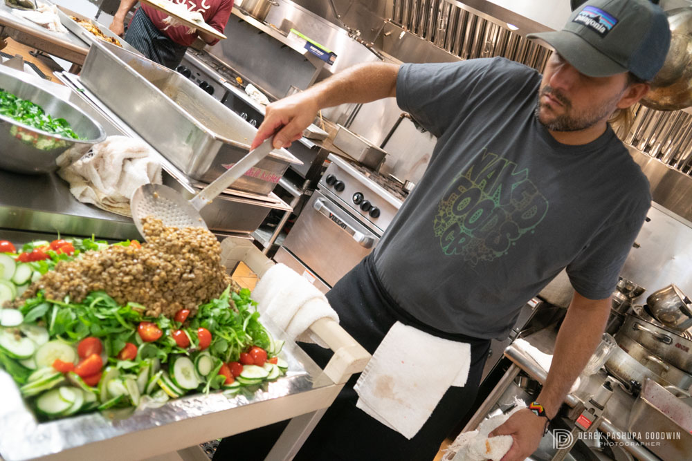 JP rocks the salad