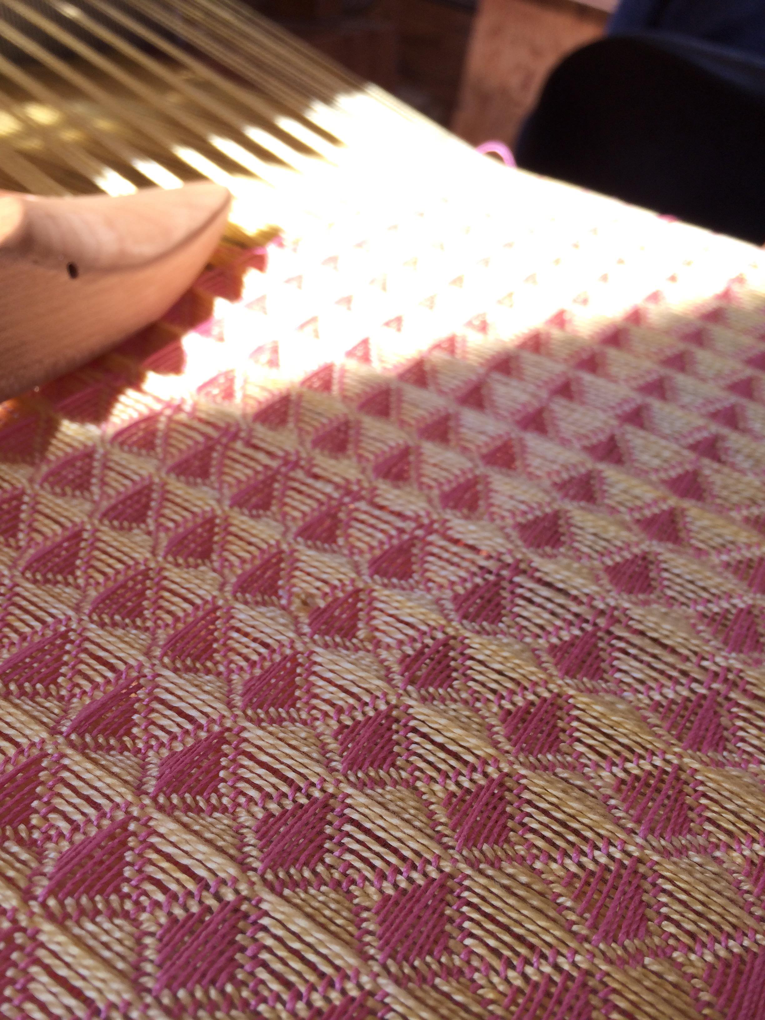 Still in progress on the loom