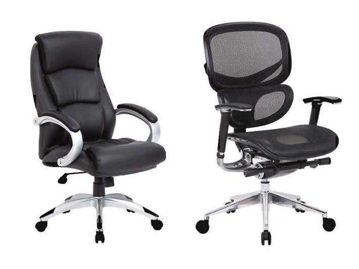 Executive Seating B8981 and B6888-BK Mesk Task Chair