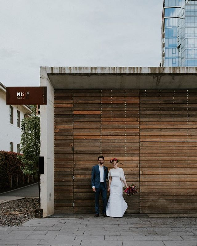Lucy + Reuben in our nation's capital on the weekend ➰ . Wedding bookings are all but closed for me for the time being. I'm still happy to consider short coverage in the early months of 2019, but I've decided not to take on any more weddings after June to focus on my work with families and @sisterscoutstudio. . It's been a difficult decision, because I'll miss gorgeous moments like this. But it feels right for me at this stage of life. 〰️