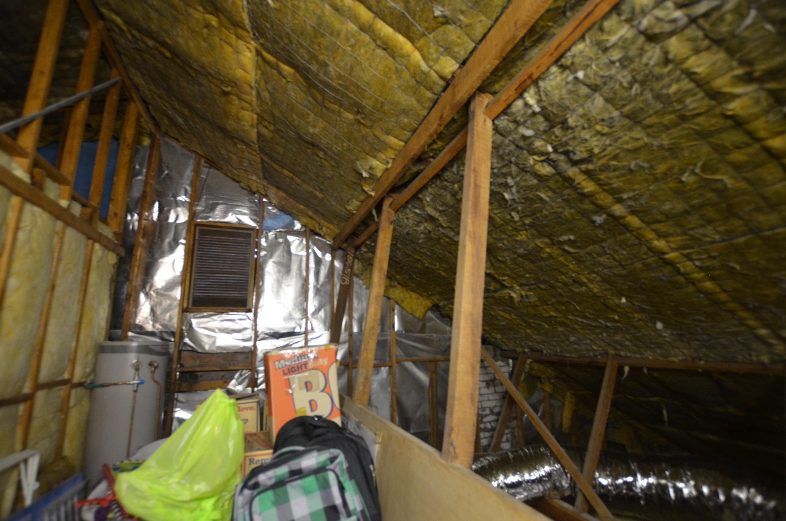 existing attic