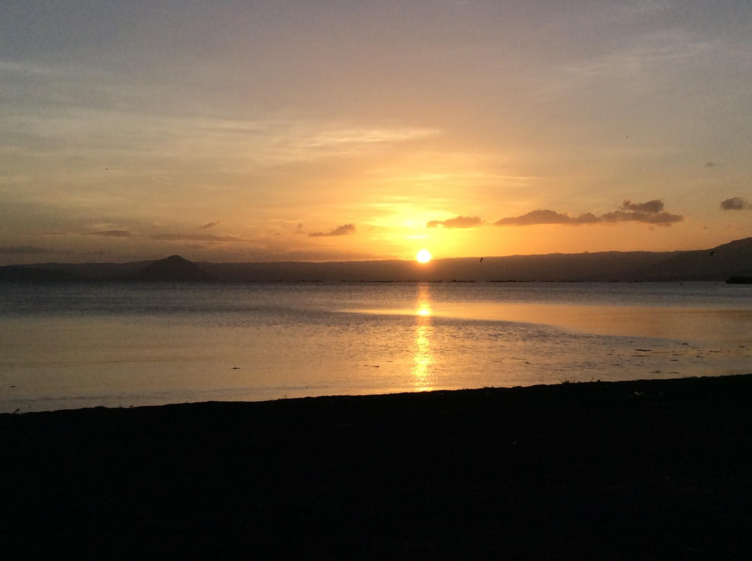 Sunset from Awilihan beach