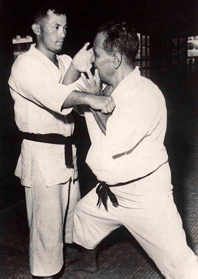 Ei'ichi Miyazato & Chojun Miyagi