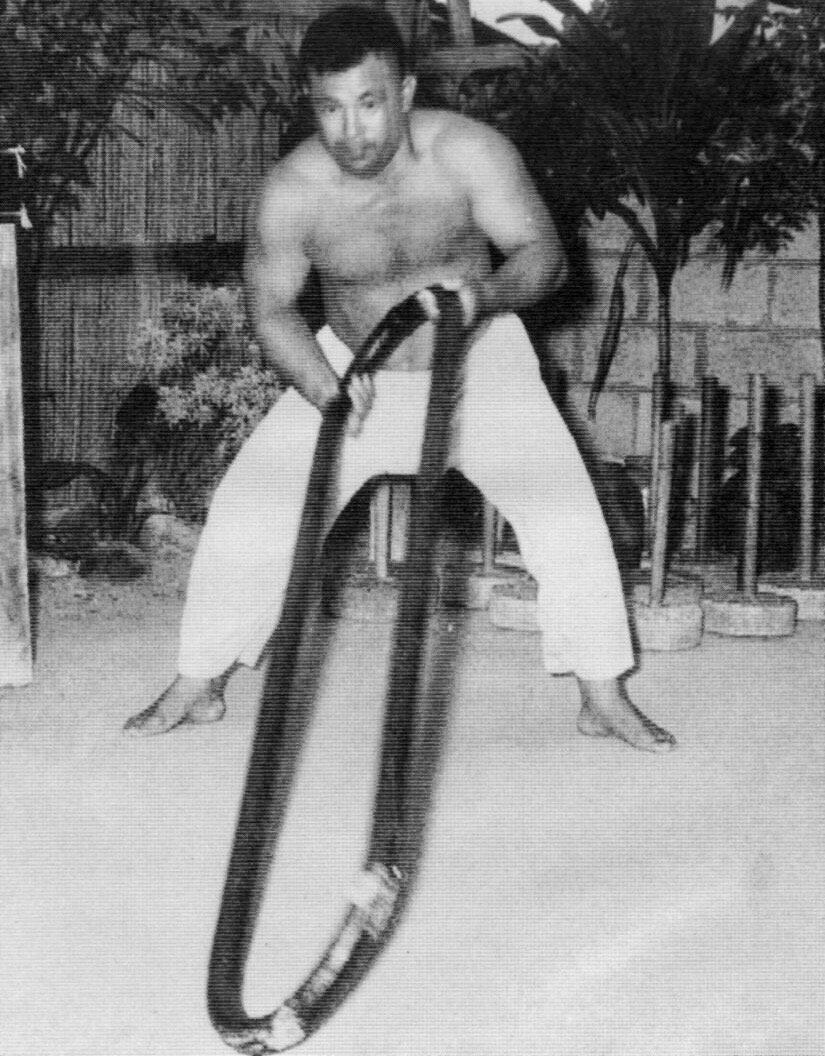 Ei'ichi Miyazato Kongoken Training