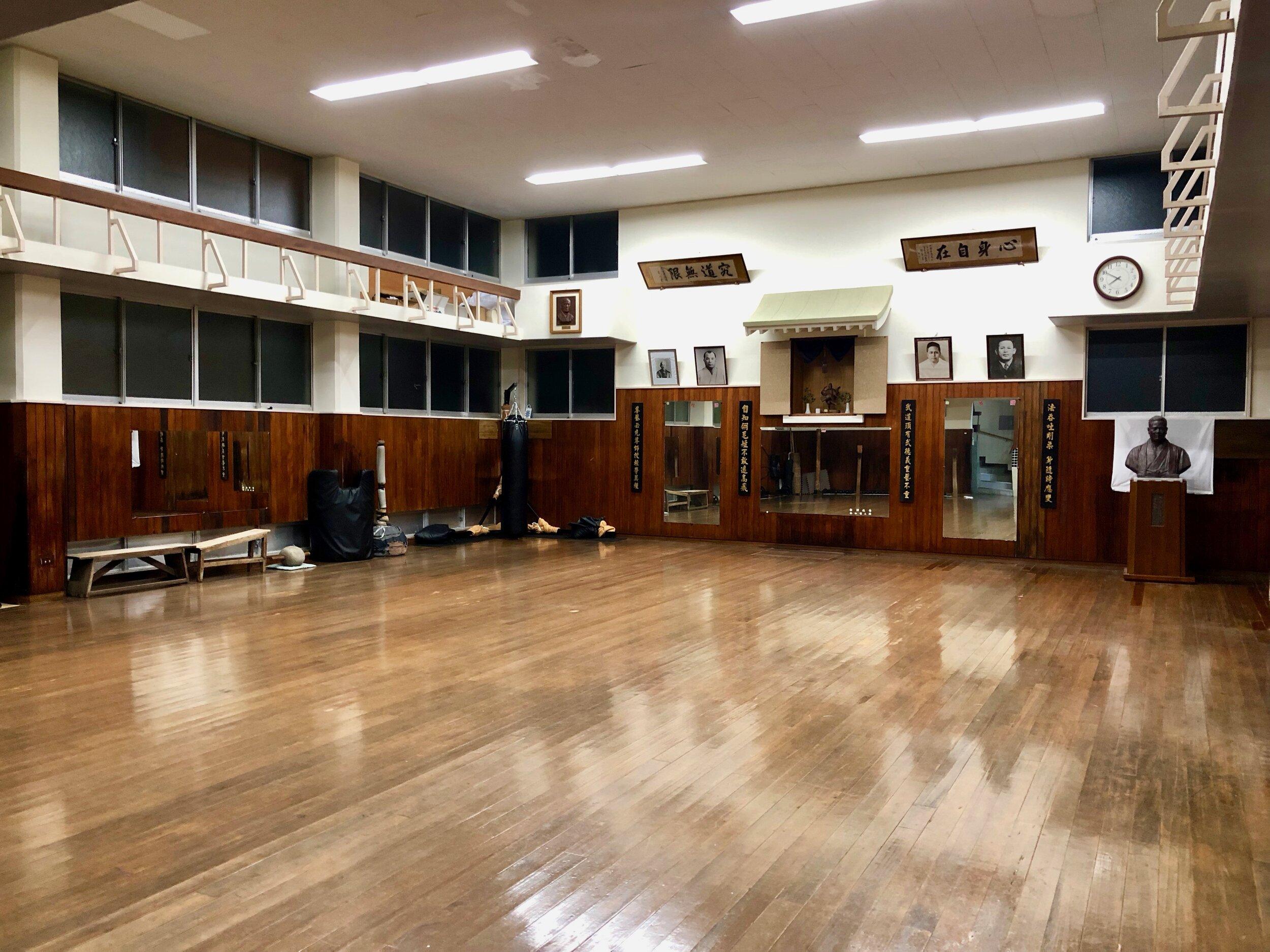 Inside the Jundokan Dojo
