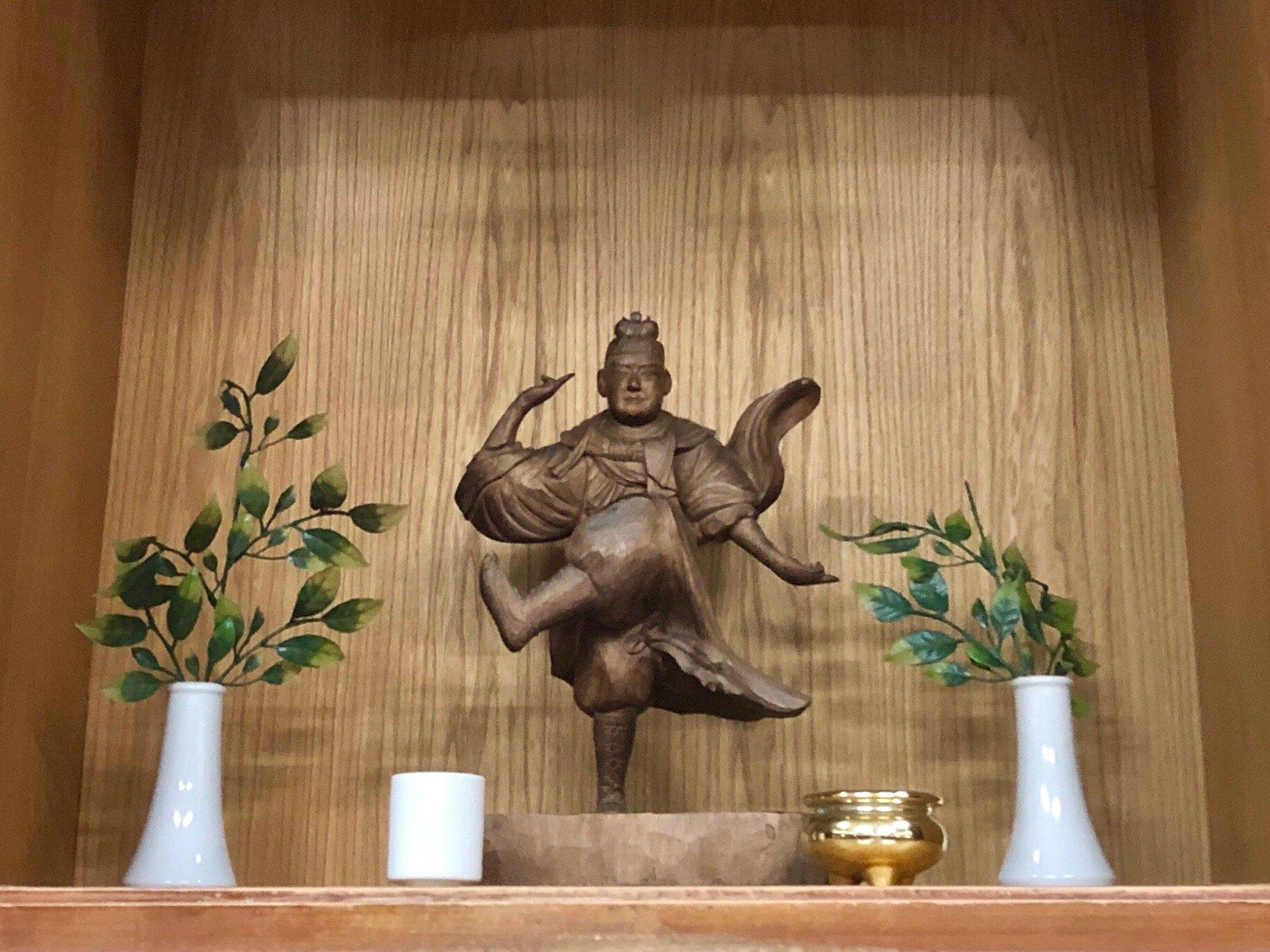Busaganashi Statue in the Jundokan