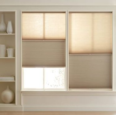 Day-Night Shade: Translucent in the daytime and blackout at night.Just raise and lower the shade to choose the amount of light you want.