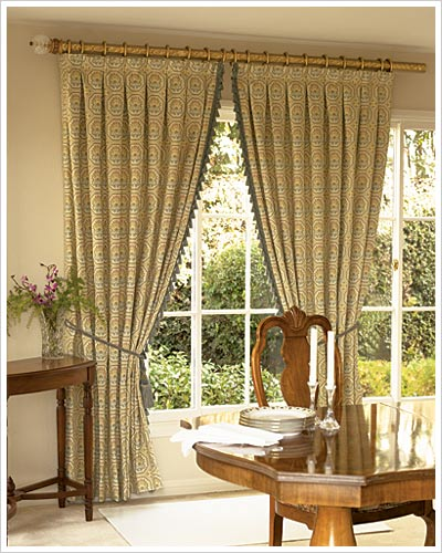 Classic and elegant, these drapery make a great addition to any room in your home