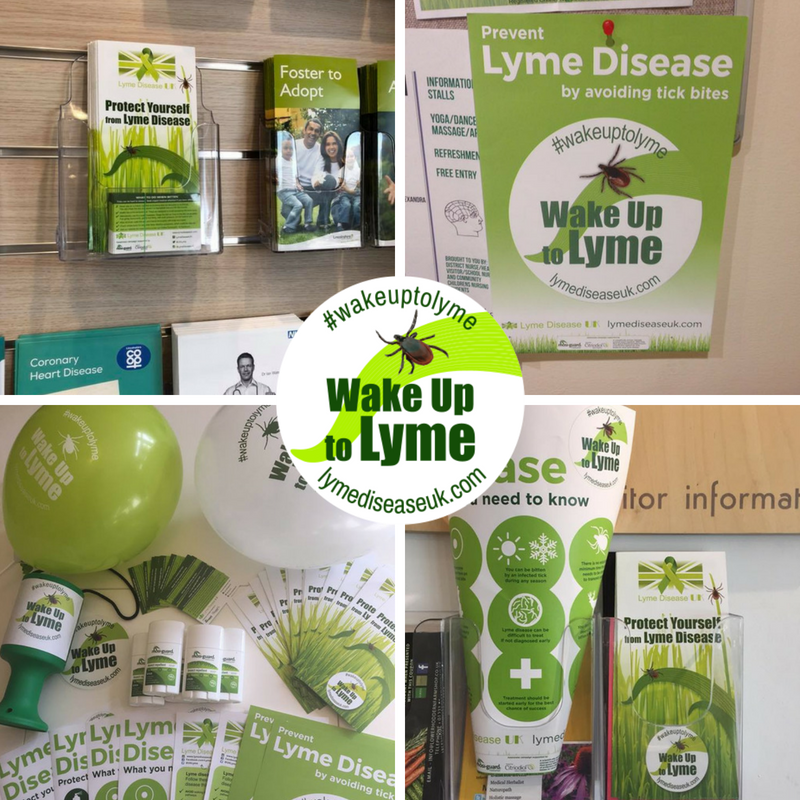 Wake up to Lyme Awareness packs