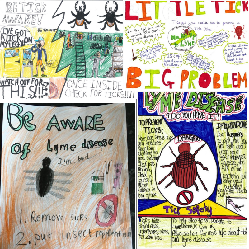 Some of the posters from the competition