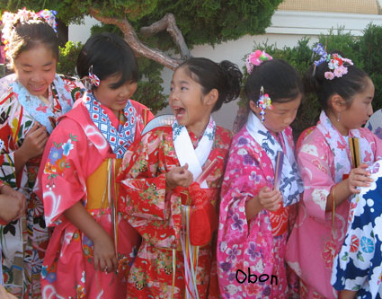 Obon Festival Girls