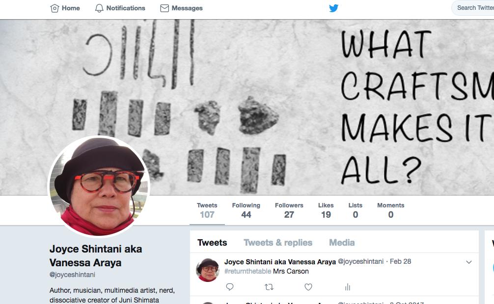 - My Twitter, re-loaded