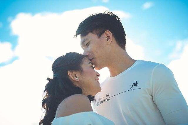Forehead kisses and the little things that you do, They remind me why everyday, I choose to be with you.  Check out our website at www.hangallmemories.com and see more heartwarming stories through our photos at: @hangallmemories