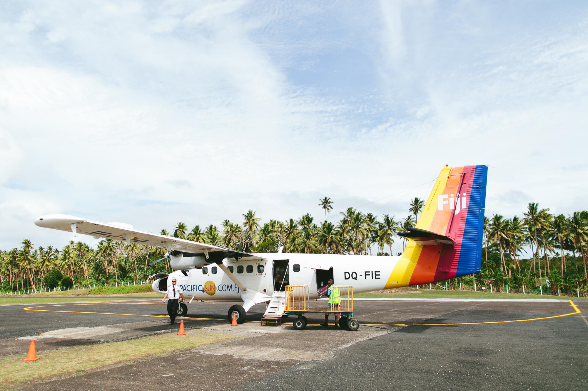 Fly Taveuni Savusavu Fiji Islands