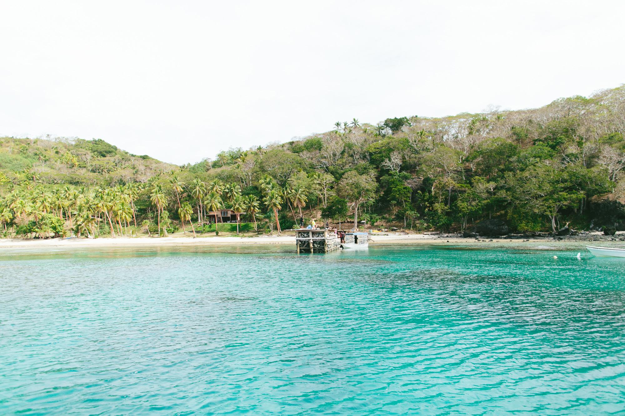 Arriving at The Remote Resort Fiji Islands