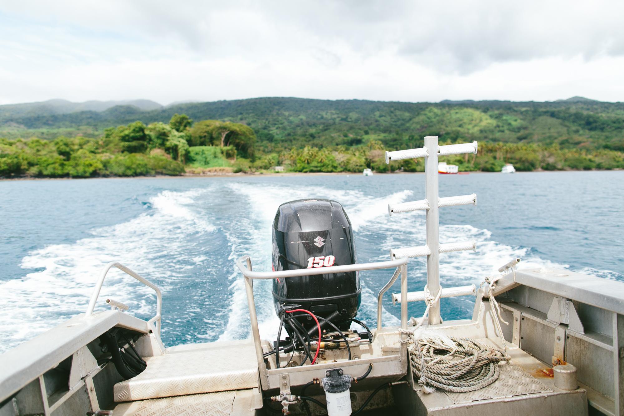 Taveuni Boat Transfer to The Remote Resort Fiji Islands