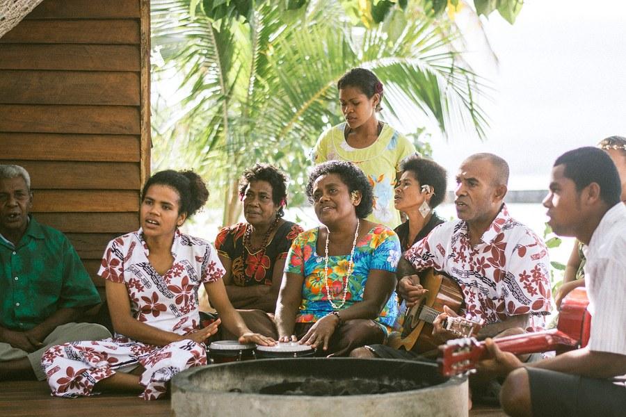 Choir - Remote Resort - Fiji Wedding.JPG