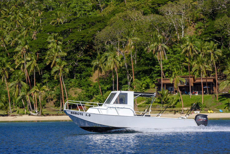 Boat transfers Taveuni or Natuvu - The Remote Resort, Fiji Islands