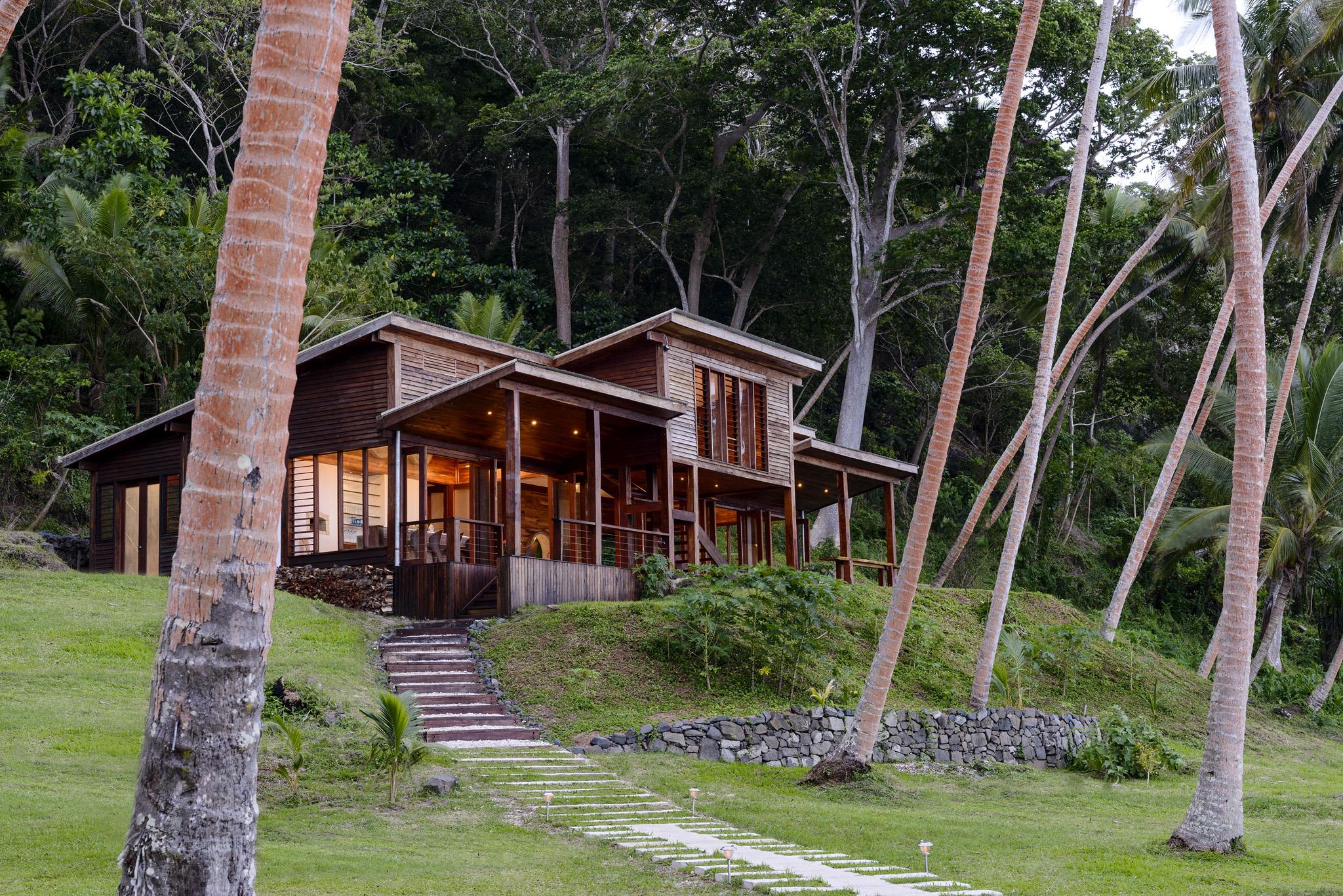 Remote Resort Fiji Islands Main Pavilion Restaurant at dusk large landscape.jpg