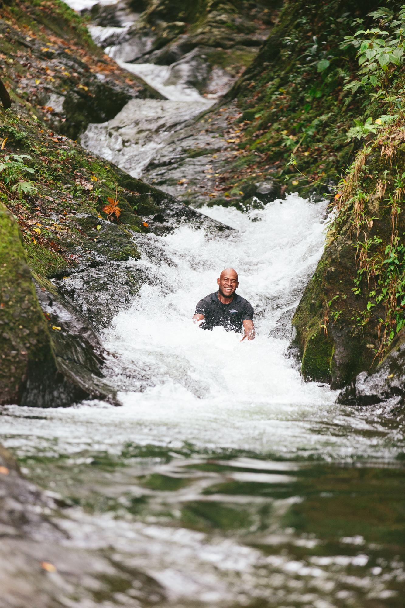 Natural Waterslides - Taveuni Insider Day Trip - The Remote Resort, Fiji Islands - Fiji Resort